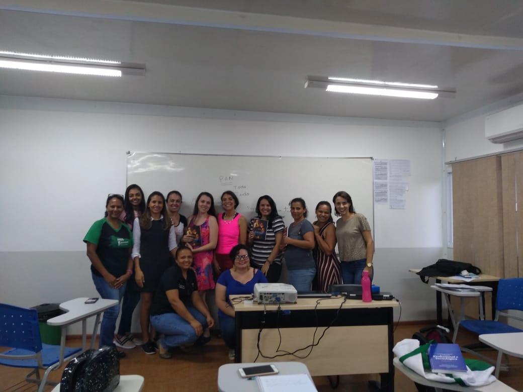 A  abertura das atividades do semestre do grupo de Pesquisa Panecástica.