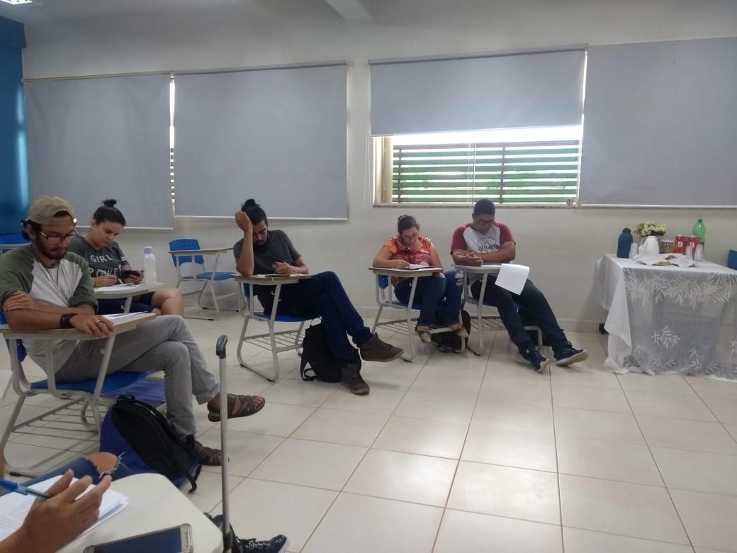 Reunião Do Grupo Panecástica – IFG Anápolis.