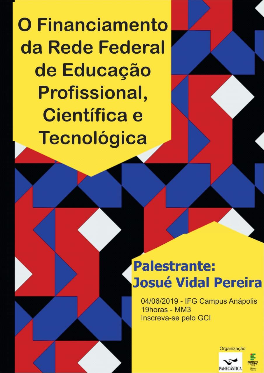 O Financiamento da Rede Federal de Educação Científica e Tecnológica