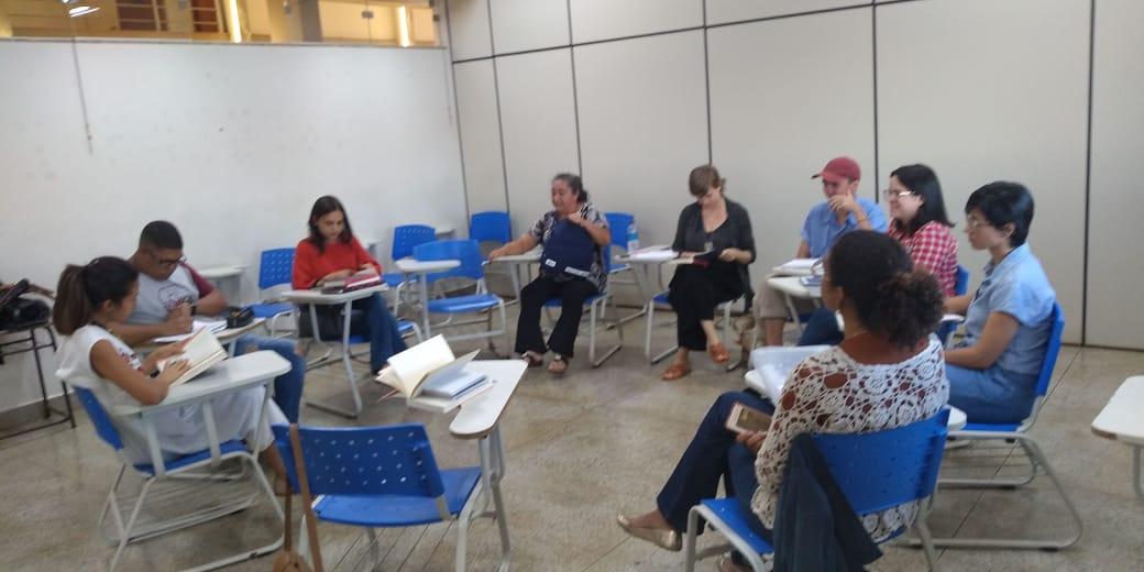 Reunião do Grupo Panecastica – 2 semestre de 2019